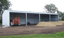 Large Farm Shed