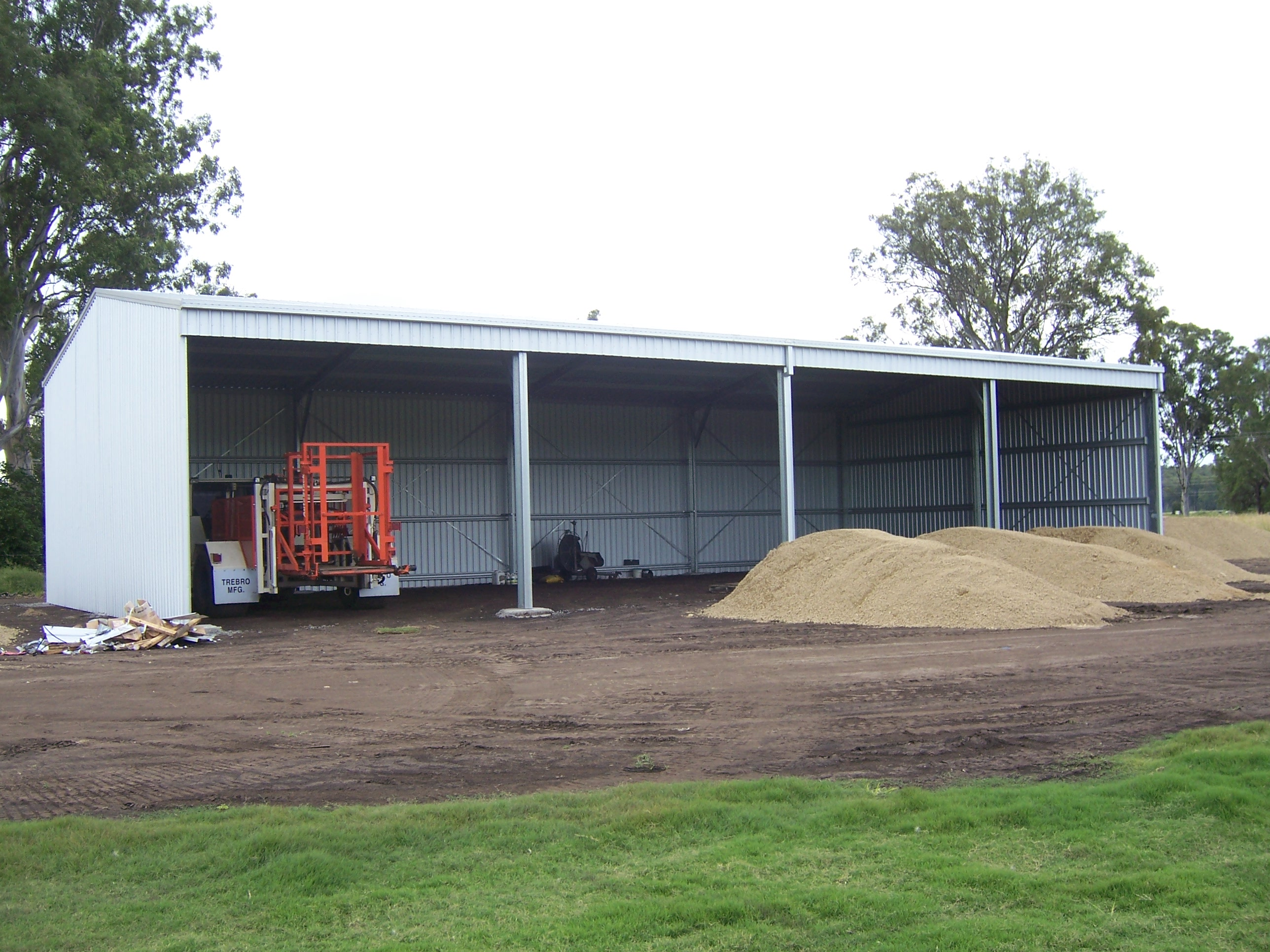 Buy discount sheds online shed and shed kits australia for Storage bay
