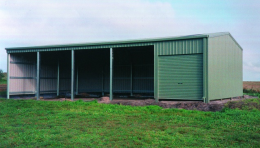 4 Open Bay Farm Shed