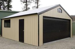 Deluxe Double Garage