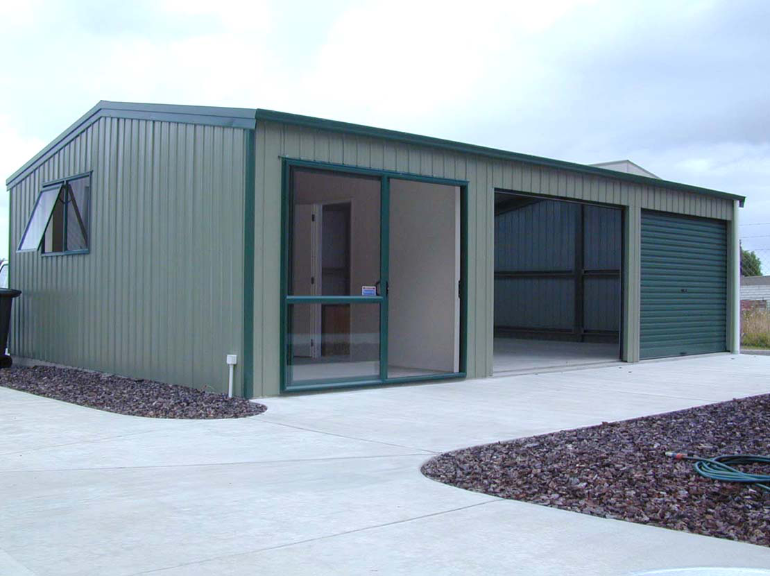 Seceuroglide insulated sectional garage door georgian cassette - Shed Garages And Garaports For Sale In Australia