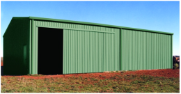 Large Sliding Door Farm Shed