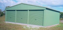 Large Triple Garage