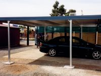 Carport-flatroof