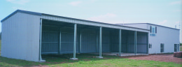 5 bay farm shed