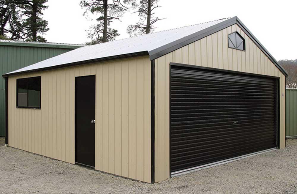 garage sheds brisbane melbourne large industrial garages. Black Bedroom Furniture Sets. Home Design Ideas